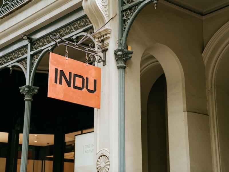INDU Melbourne signage. Photo Arianna Leggiero