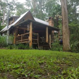 Secluded cedar cottage on 10 acres of rainforest