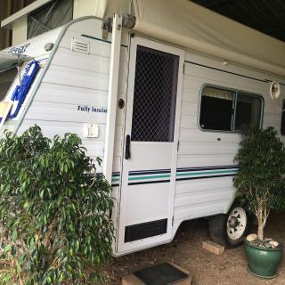 Caravan Stay at Madrigal Farm