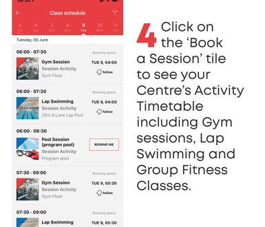 YMCA SA Reopening App tiles4