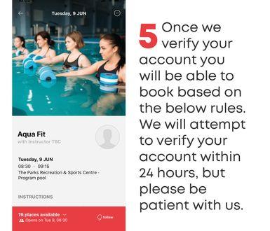 YMCA SA Reopening App tiles5