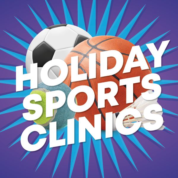 Holiday Sports Clinics Oct Web Banner